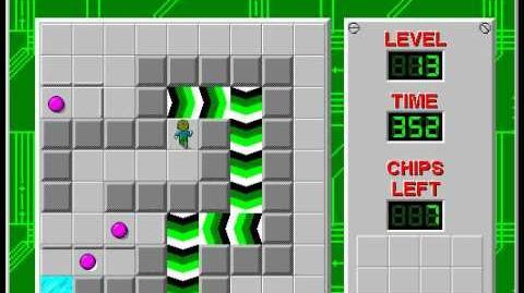 CCLP2 level 13 solution - 342 seconds