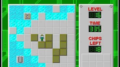 CCLP2 level 16 solution - 313 seconds