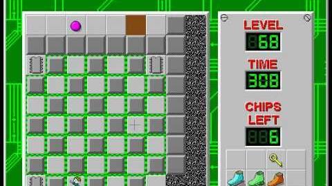 CCLP2 level 68 solution - 277 seconds