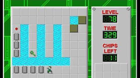 CCLP2 level 78 solution - 298 seconds