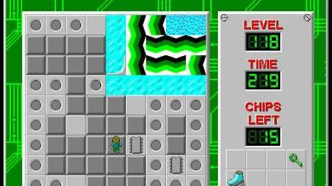 CCLP2 level 118 solution - 189 seconds