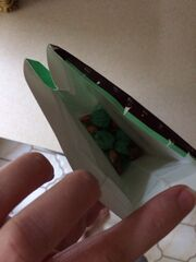 Bag of mint truffles