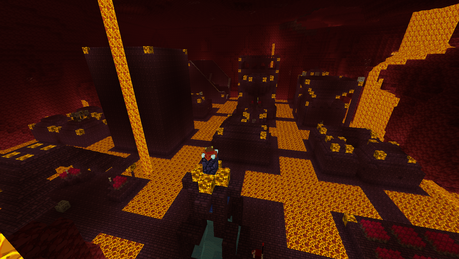 Chocolate Quest Nether City 1