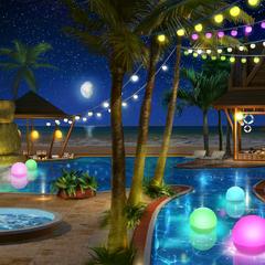 Pool: Night