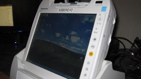 Panasonic Toughbook H1 (CF-H1) Medical MCA Tablet