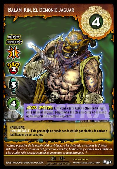 31 Balam Kin, El Demonio Jaguar