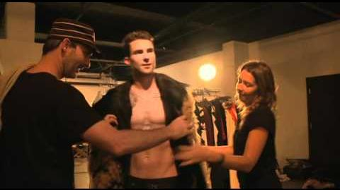 Behind the Scenes 'Moves Like Jagger' Video Shoot