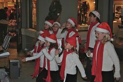 Carols singers