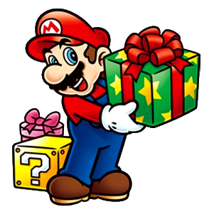File:Mario with presents.png