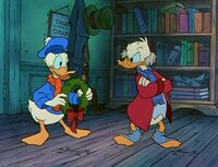 Donald and Scrooge