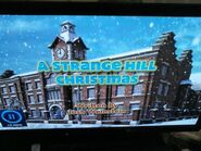 Strange hill high Christmas title card