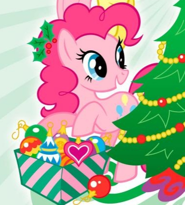 File:Pinkie Pie with ornaments.jpg