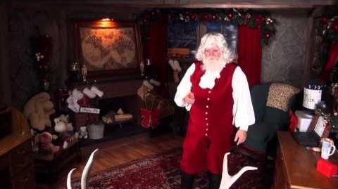 Santa Snooper Webcam Video 011- Cookie Napper & Silly Reindeer!