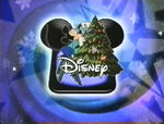 Disney Channel Christmas logo from 1997