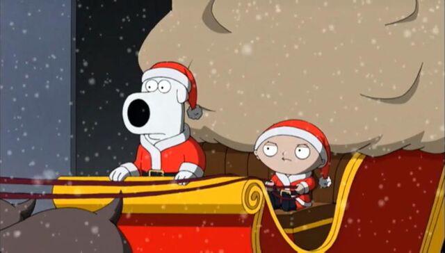 File:Brian and Stewie dressed as Santa.jpg