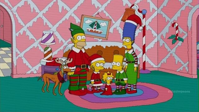 File:Simpsons Christmas couch gag.jpg
