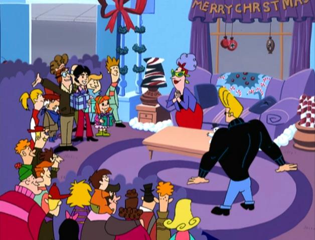 File:Johnny Bravo Christmas group shot.jpg