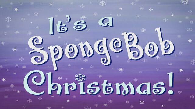 File:Its a SpongeBob Christmas Title.jpg