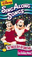 DisneysTwelveDaysOfChristmasSingAlong VHS 1994