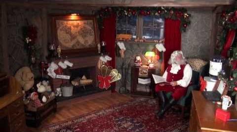 Santa Snooper Webcam Video 018- a Little Christmas Surprise!