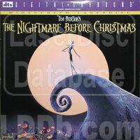 NightmareBeforeXmas Laserdisc 1997
