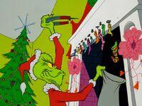 Grinch taking stockings