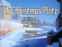Christmas plotz