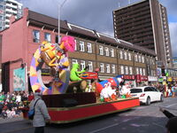 2011 Toronto Santa Claus Parade float c