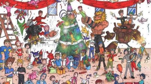 AMV Navideño Minna no Christmas