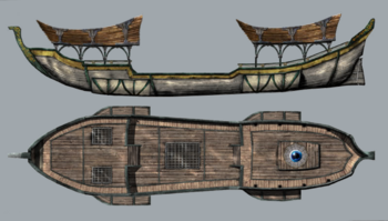Elven-skybarge