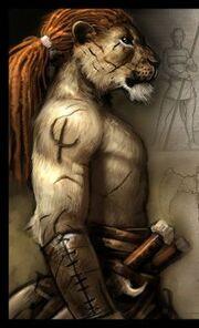 Lion sketch-01