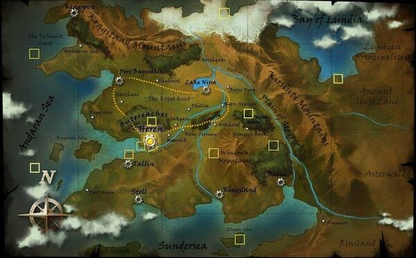Worldmap Secret Area's Updated