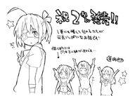 Rikka Takanashi, Satone Shichimiya, Shinka Nibutani and Kazari Kannagi