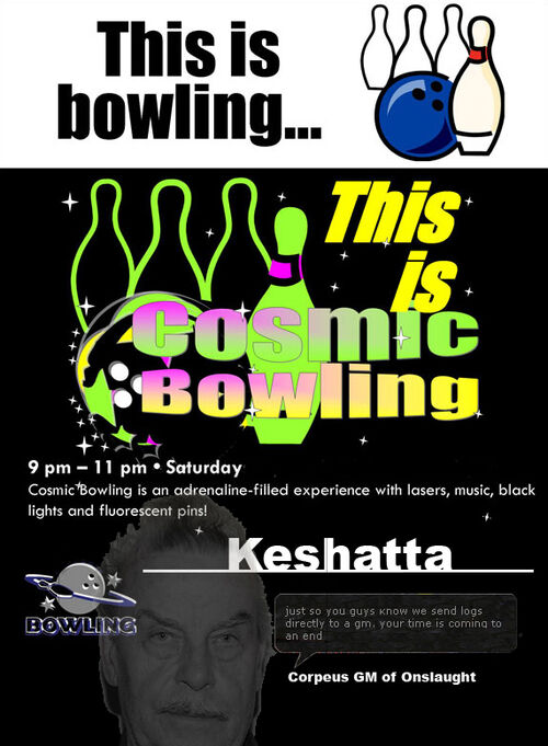 Cosmicbowling