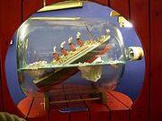 Buddelschiff Titanic.JPG