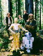 Return of the jedi cast