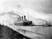 RMS Titanic sea trials April 2, 1912