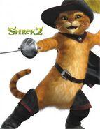 Shrek 2 el gato con botas