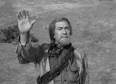 Eduard Franz just before his death in Gunsmoke-Indian Scout