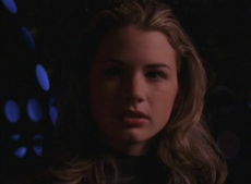 Amy Kerr shortly before her death in Lexx-791