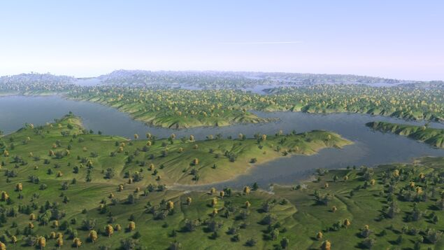Across - Grassy Marshland