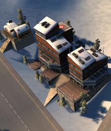 Mountain hospital