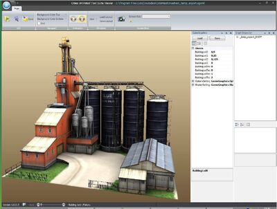 3ds max setup complete factory model