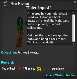 Codex Request Mission