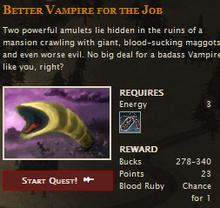 Vampires mission