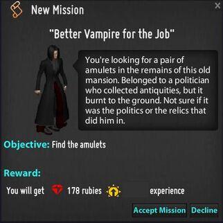 Mission screen better vamp