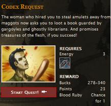 Codex request FB