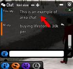 Beta Chat Area