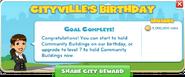 Celebrate CityVille's Birthday!-complete