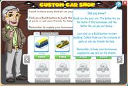 Custom Car Shop menu2